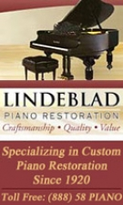 Lindeblad Piano Restoration New Jersey